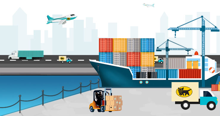 航空・海上輸送サービス